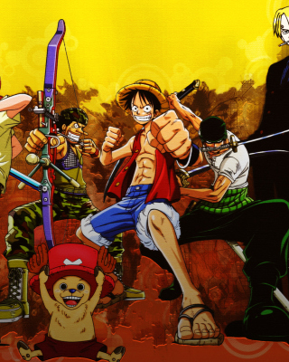 Обои One Piece Armed на Nokia Asha 306