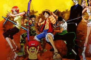 Kostenloses One Piece Armed Wallpaper für Samsung Galaxy S6 Active