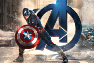Captain America Marvel Avengers Background for 640x480