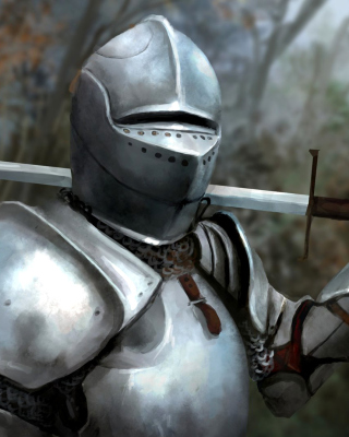 Medieval knight in armor Picture for iPhone 6 Plus