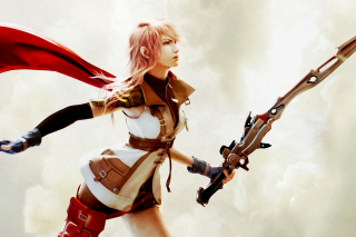 Free Lightning Final Fantasy XIII Picture for Android, iPhone and iPad