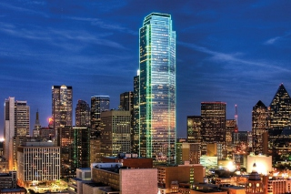 Dallas Skyline Picture for Android, iPhone and iPad