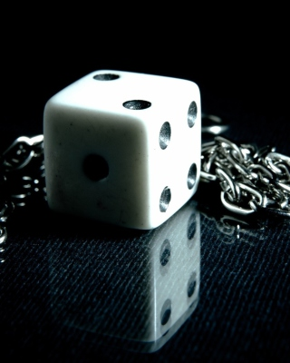 Dice And Metal Chain Wallpaper for iPhone 7 Plus