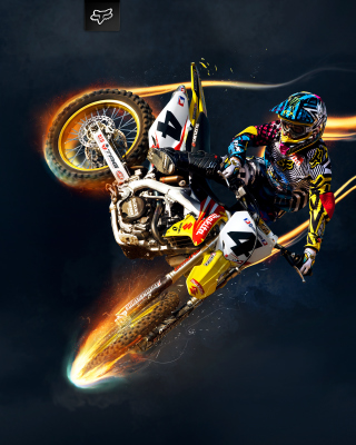 Kostenloses Freestyle Motocross Wallpaper für iPhone 5C