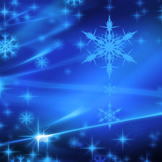 Snowflakes Wallpaper for LG KP105