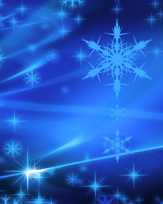 Snowflakes Background for Nokia C2-05