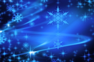 Snowflakes Background for Android 2560x1600