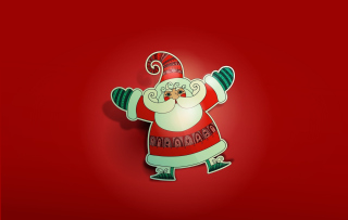 Free Dancing Santa Picture for Android, iPhone and iPad