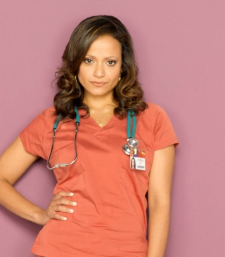 Scrubs - Judy Reyes Nurse Carla Espinosa Wallpaper for 240x320