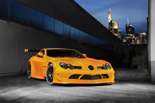 Mercedes-Benz SLR McLaren 722 Edition Background for Android, iPhone and iPad