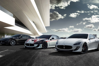 Maserati Cars Background for 1920x1200