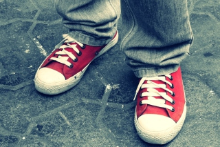 Red Sneakers sfondi gratuiti per cellulari Android, iPhone, iPad e desktop