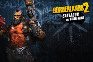 Salvador the Gunzerker, Borderlands 2 Wallpaper for Android, iPhone and iPad