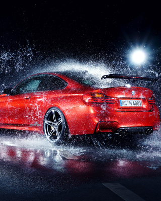 BMW M4 Tuning Wallpaper for HTC Titan