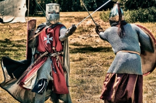 Kostenloses Knight Tournament Wallpaper für Android, iPhone und iPad
