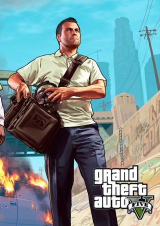 Gta 5 V Trevor Picture for 176x220