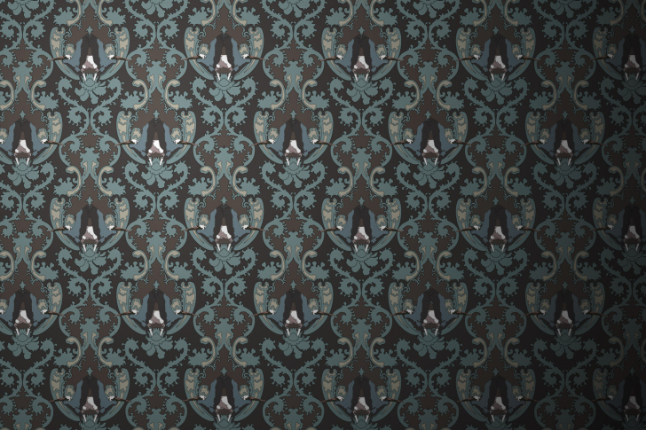 Das Grey Pattern Wallpaper