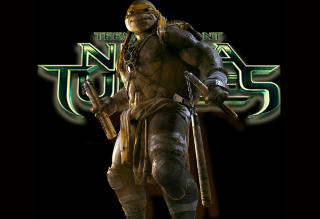 TMNT 2014 Michelangelo Wallpaper for Android, iPhone and iPad