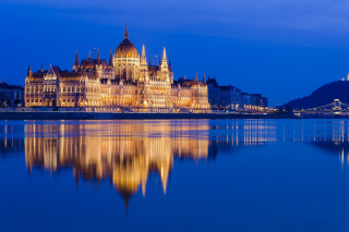 Hungarian Parliament Building sfondi gratuiti per cellulari Android, iPhone, iPad e desktop