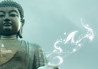 Abstract Buddha sfondi gratuiti per Samsung I909 Galaxy S