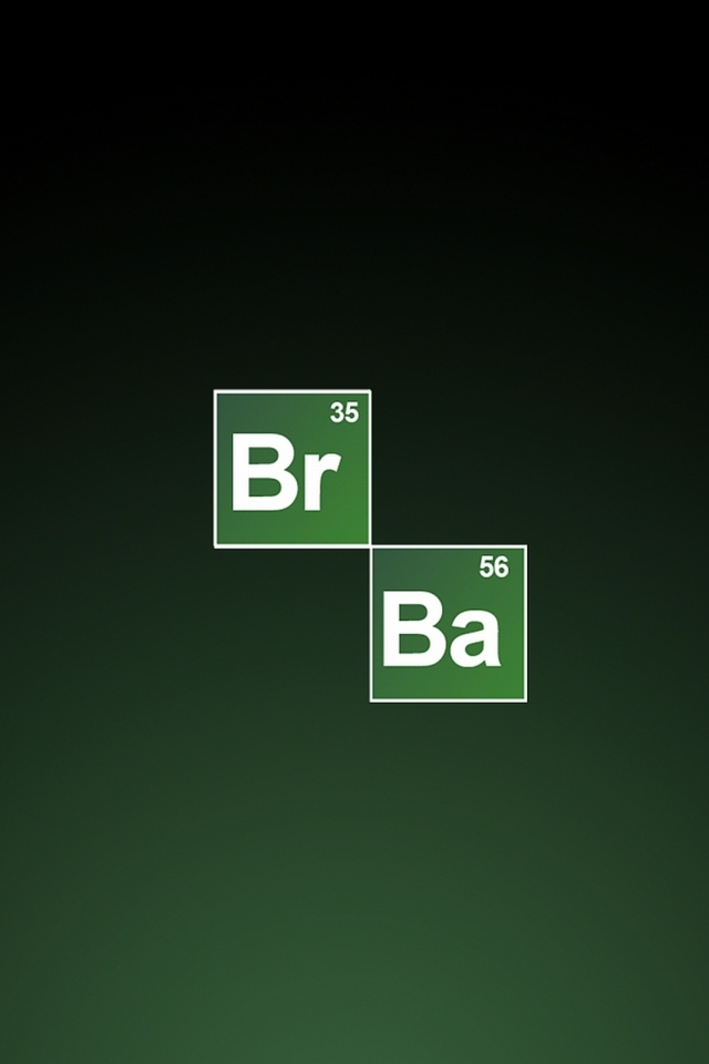 Screenshot №1 pro téma Breaking Bad Logo 640x960