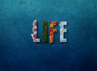 It's My Life Wallpaper for Android, iPhone and iPad