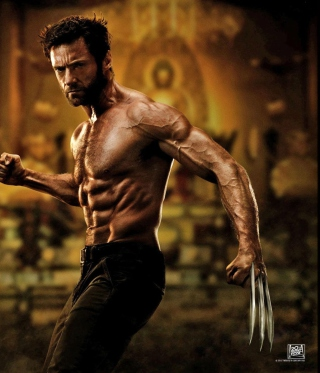 The Wolverine 2013 Movie sfondi gratuiti per Nokia Asha 306