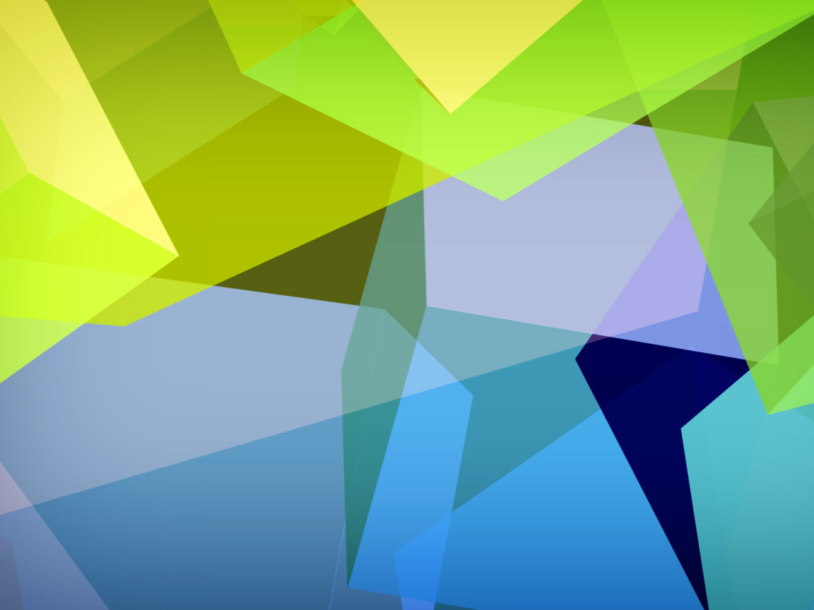 Screenshot №1 pro téma Light Geometric Shapes 1152x864