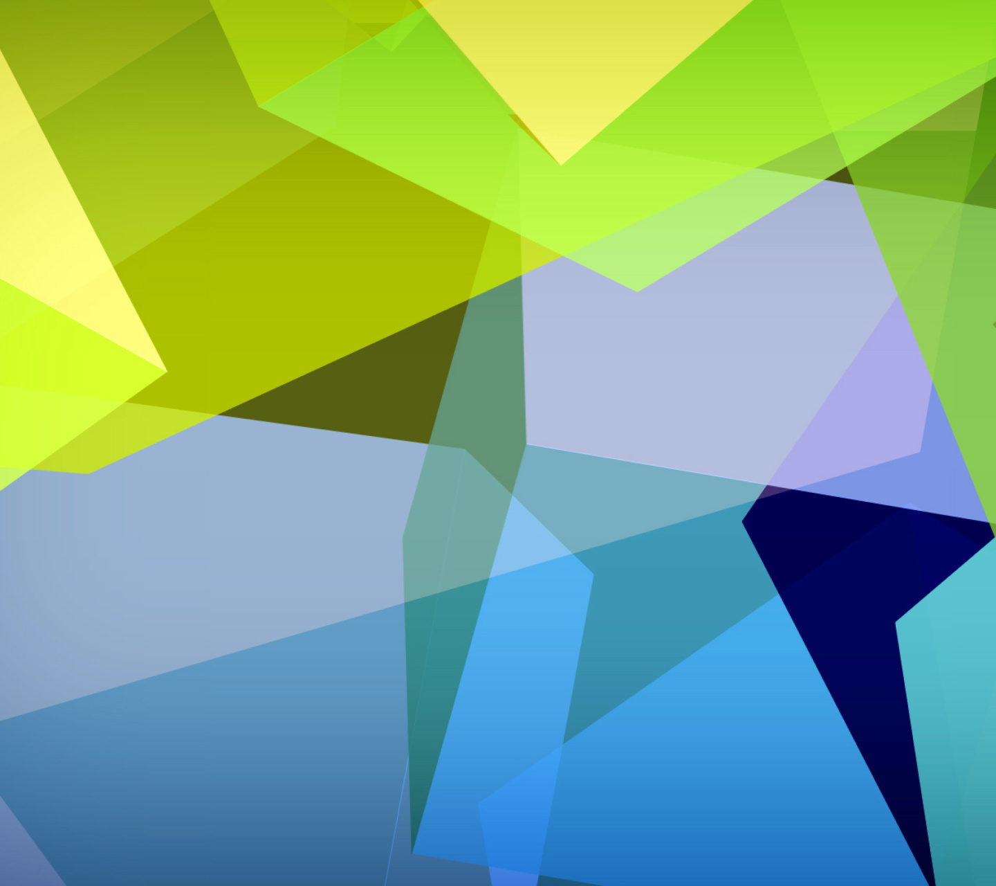 Screenshot №1 pro téma Light Geometric Shapes 1440x1280