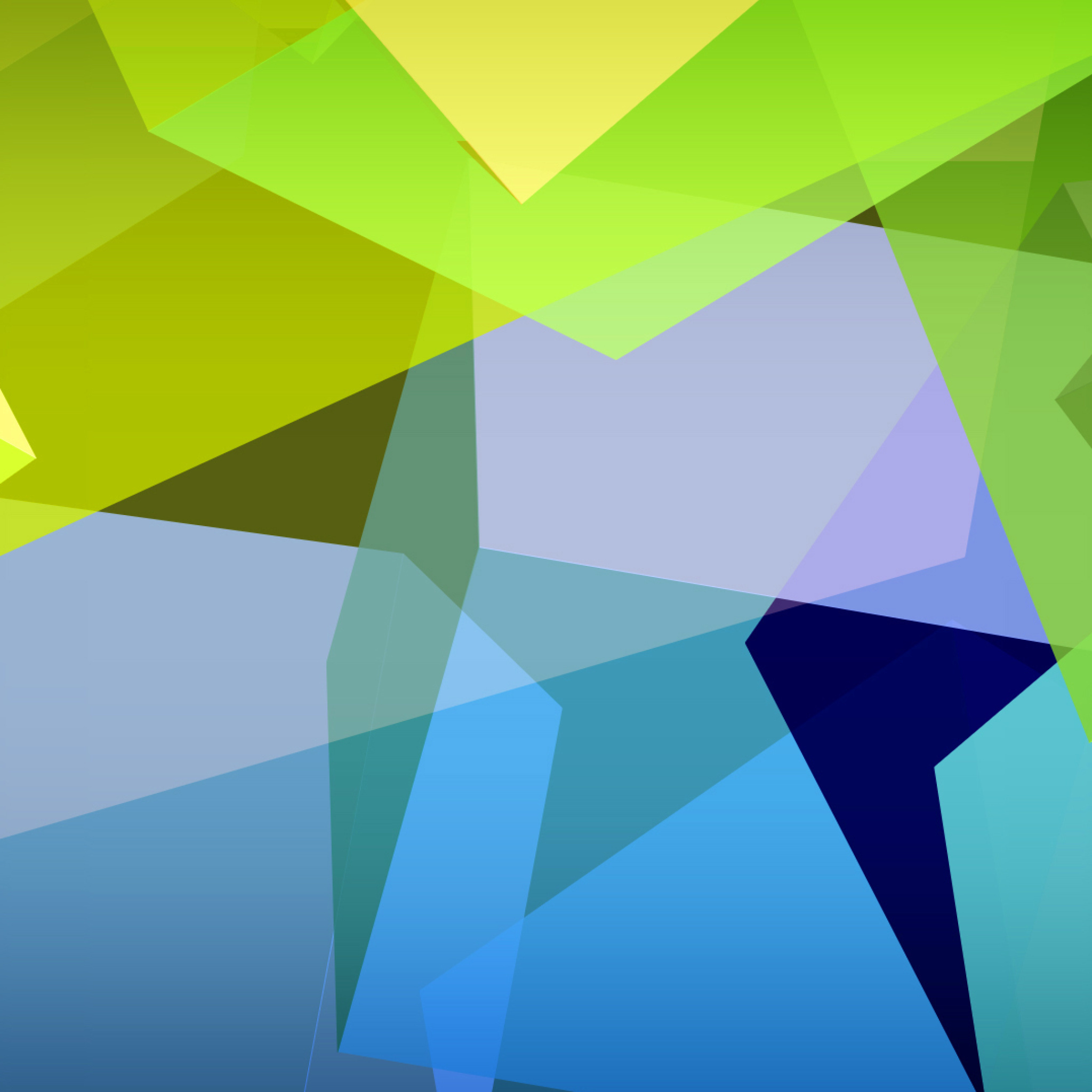 Screenshot №1 pro téma Light Geometric Shapes 2048x2048