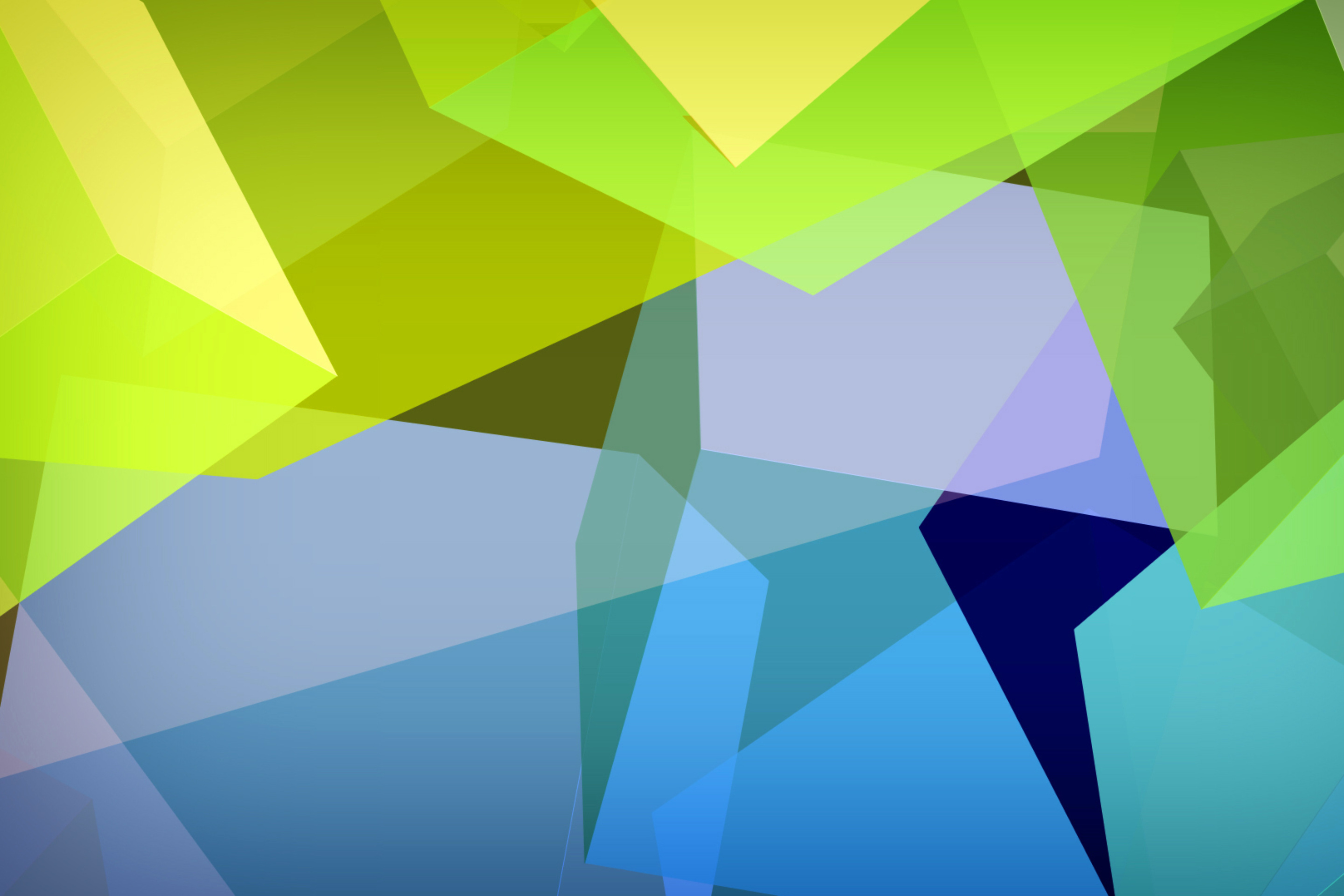 Screenshot №1 pro téma Light Geometric Shapes 2880x1920