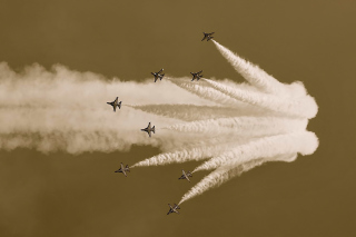 Airshow Background for Android, iPhone and iPad