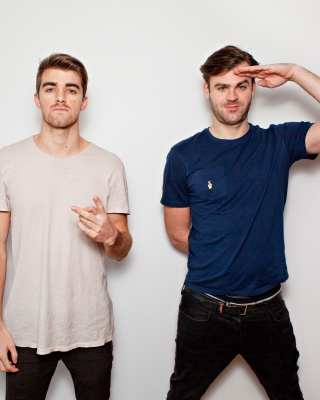 The Chainsmokers with Andrew Taggart and Alex Pall sfondi gratuiti per Samsung S5230W Star WiFi