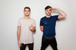 The Chainsmokers with Andrew Taggart and Alex Pall - Obrázkek zdarma pro Desktop Netbook 1024x600
