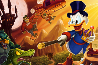 DuckTales, Scrooge McDuck Background for Android, iPhone and iPad