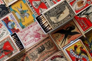 Matchboxes Wallpaper for Android, iPhone and iPad