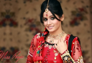Miss Pooja Background for Android, iPhone and iPad