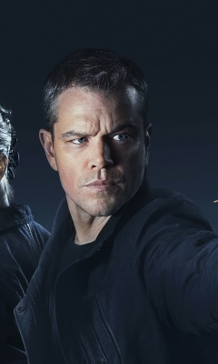 Jason Bourne wallpaper 240x400