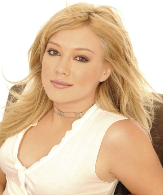 Hillary Duff Background for Nokia Asha 305