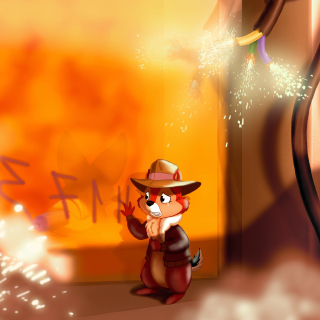 Chip and Dale Rescue Rangers 2 Wallpaper for iPad mini