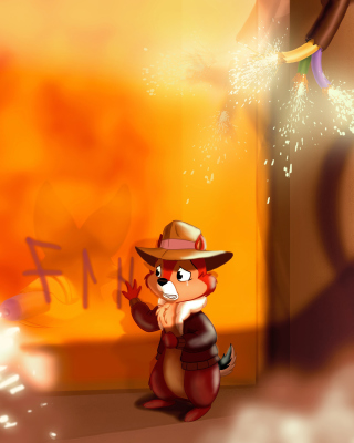 Chip and Dale Rescue Rangers 2 Background for Nokia C5-03