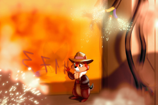 Chip and Dale Rescue Rangers 2 Wallpaper for Nokia Asha 205