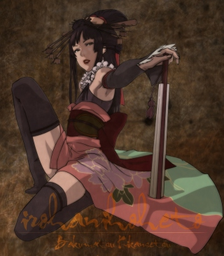 Kunoichi Picture for HTC Titan