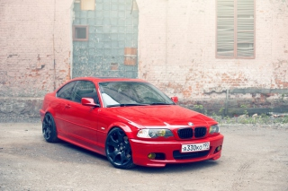 Free BMW E46 Stance Picture for Android, iPhone and iPad