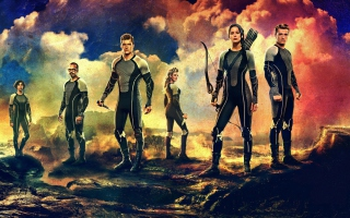 2013 The Hunger Games Catching Fire papel de parede para celular