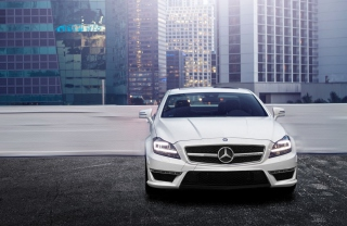 Mercedes Benz Cls Background for Android, iPhone and iPad