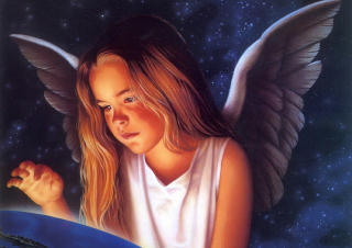 Little Angel Wallpaper for Android, iPhone and iPad