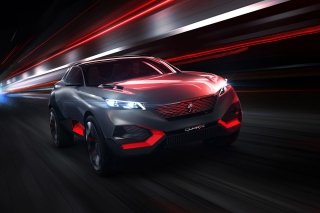 Free Peugeot Quartz Concept Picture for Android, iPhone and iPad