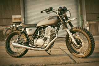 Free Yard Built SR400 Picture for 480x320