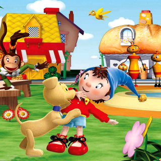 Free Noddy Wallpaper Picture for iPad 2